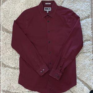 Express: Men's 1MX Fitted Dress Shirt